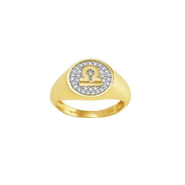 Δαχτυλίδι Chevalier Με Ζώδιο
