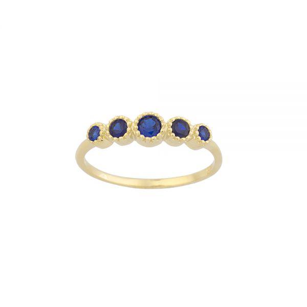 Δαχτυλίδι Σε Κίτρινο Χρυσό