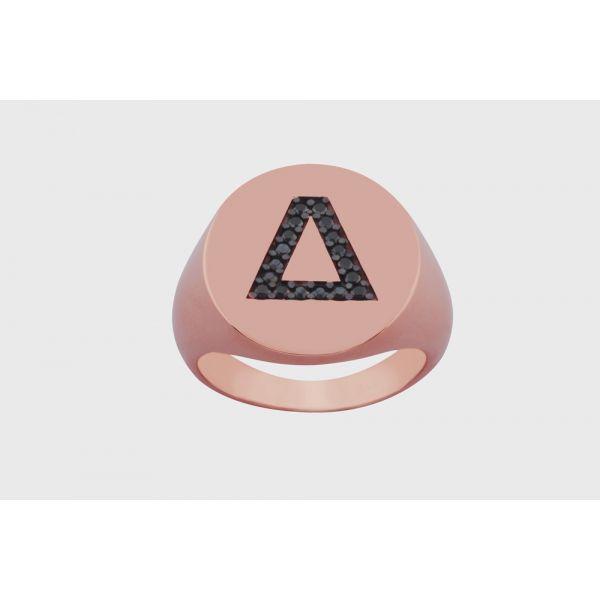 Δαχτυλίδι Chevalier Με Μονόγραμμα