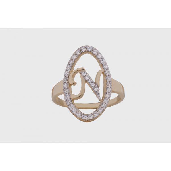 Δαχτυλίδι Με Μονόγραμμα